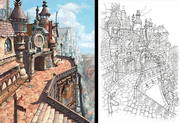 Я хочу жить в этой 3D-версии Линдблума из Final Fantasy 9