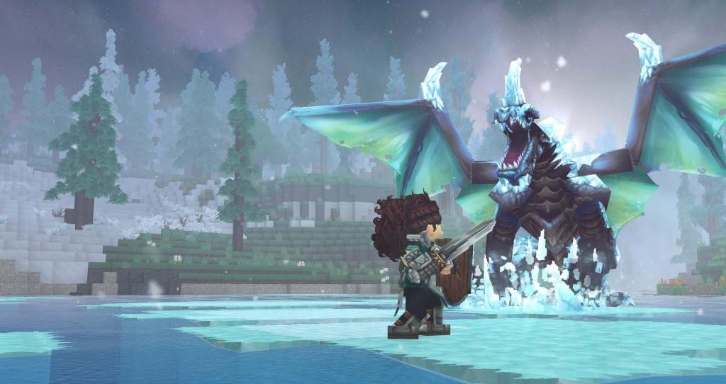 Дизайнеры одного из самых популярных серверов для Minecraft создали блоковую RPG