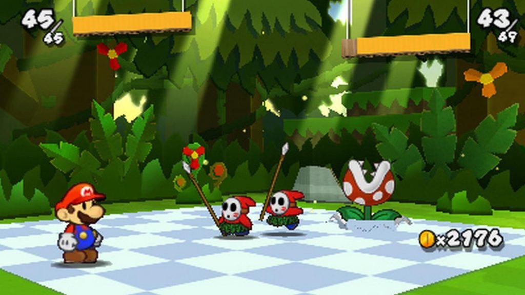 Серийный ключ из джунглей скромняг – Paper Mario: Sticker Star