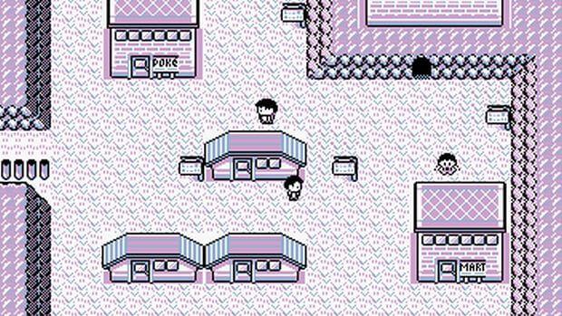 Лавандовый город - Pokemon Red & Blue