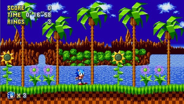Бесплатная Sega Genesis - Sonic the Hedgehog