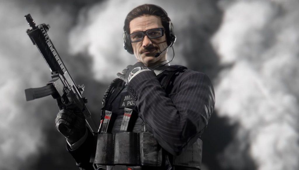 Новый защитник в игре Rainbow Six Siege выглядит, как твой папа, при этом, похожий на Джеймса Бонда