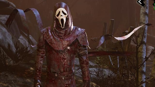 Следующий злодей «Dead by Daylight» — убийца из «Крика»