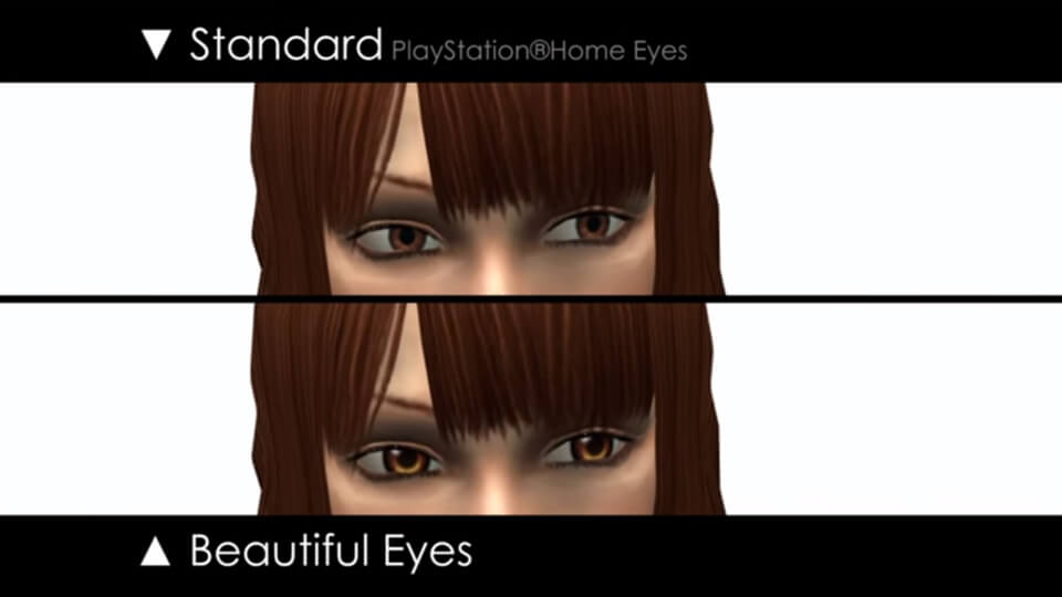 PlayStation Home - Beautiful Eyes