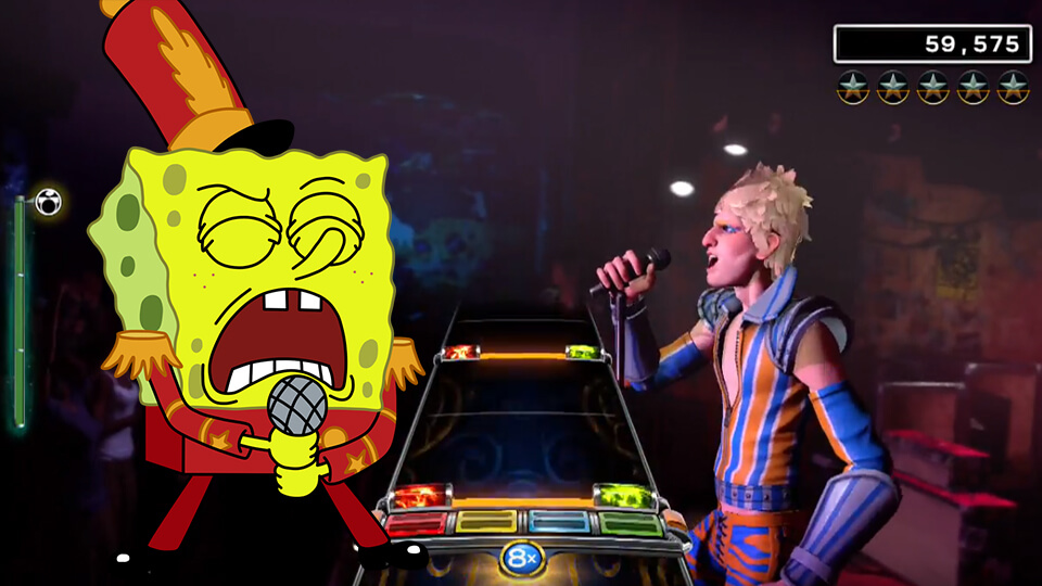 Rock Band 4 - The Spongebob SquarePants Pack