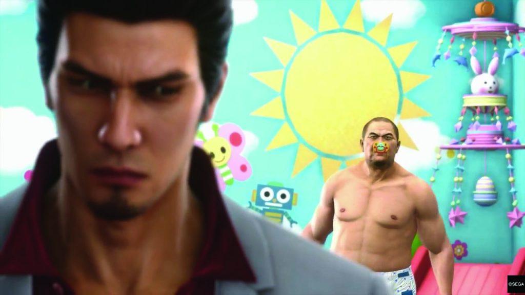 Новая Yakuza будет представлена августе