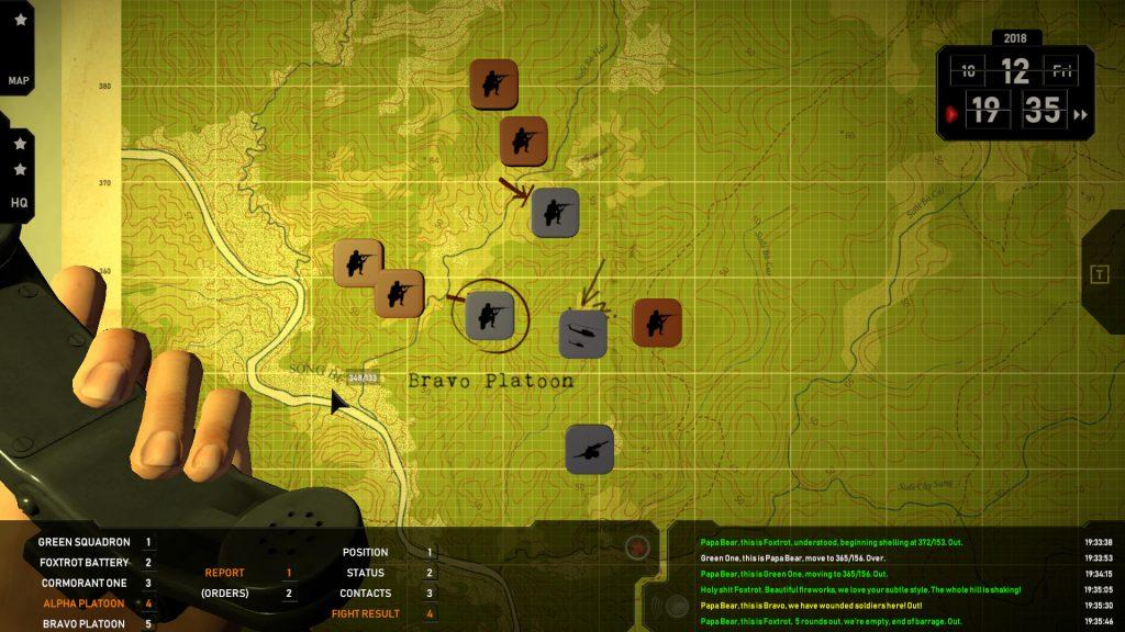 Я потерял своих солдат в стратегическом симуляторе Radio Commander