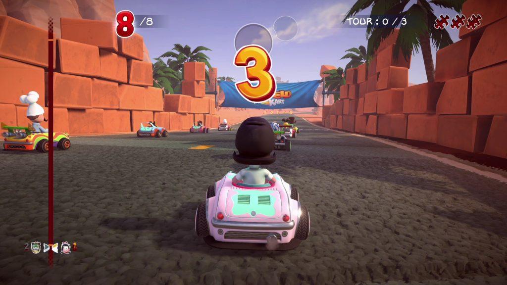 Garfield Kart: Разъяренная гонка мурлычет на ПК в ноябре этого года