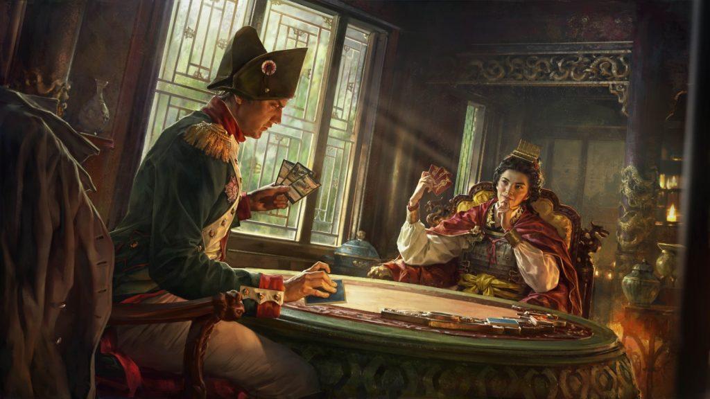 Total War: Elysium - карточный спин-офф, запускающийся в Китае