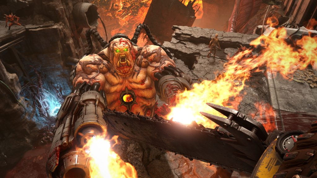 У Doom Eternal более длительная одиночная игра чем у Doom 2016