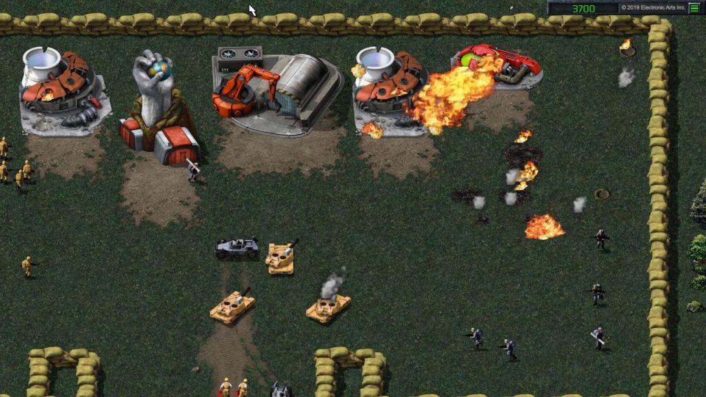 Посмотрите первый игровой тизер Command & Conquer Remastered