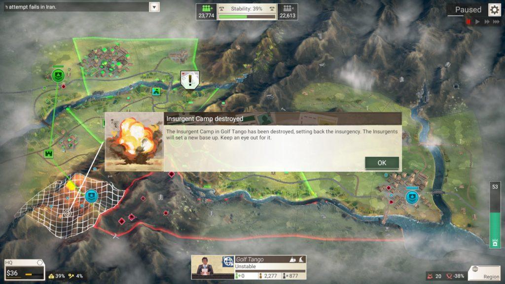 Rebel Inc: Escalation появиться в раннем доступе в октябре
