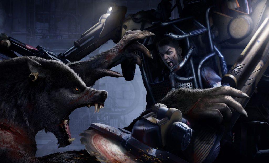 Трейлер к анонсу игры Werewolf: The Apocalypse — Earthblood