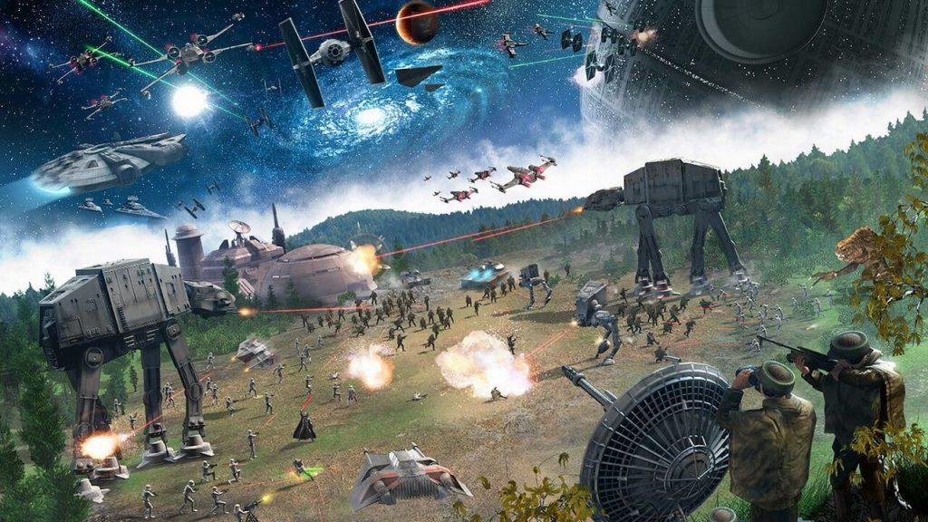Доступна версия 3.0 фанатского ремейка Star Wars Empire at War