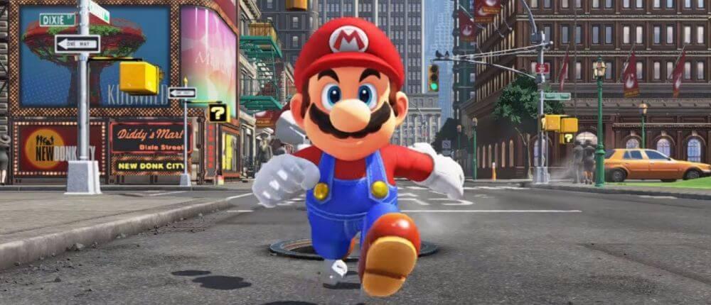 История Марио