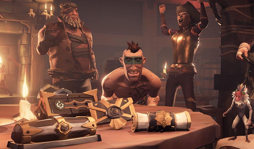 Последнее обновление для Sea of Thieves это шанс заработать много золота
