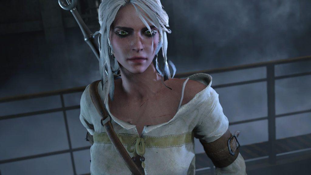 Появился мод, позволяющий играть за Цири в Resident Evil 2