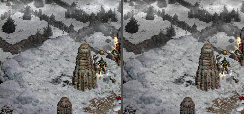 Текстуры лагеря разбойников в Diablo 2 будут увеличены модером