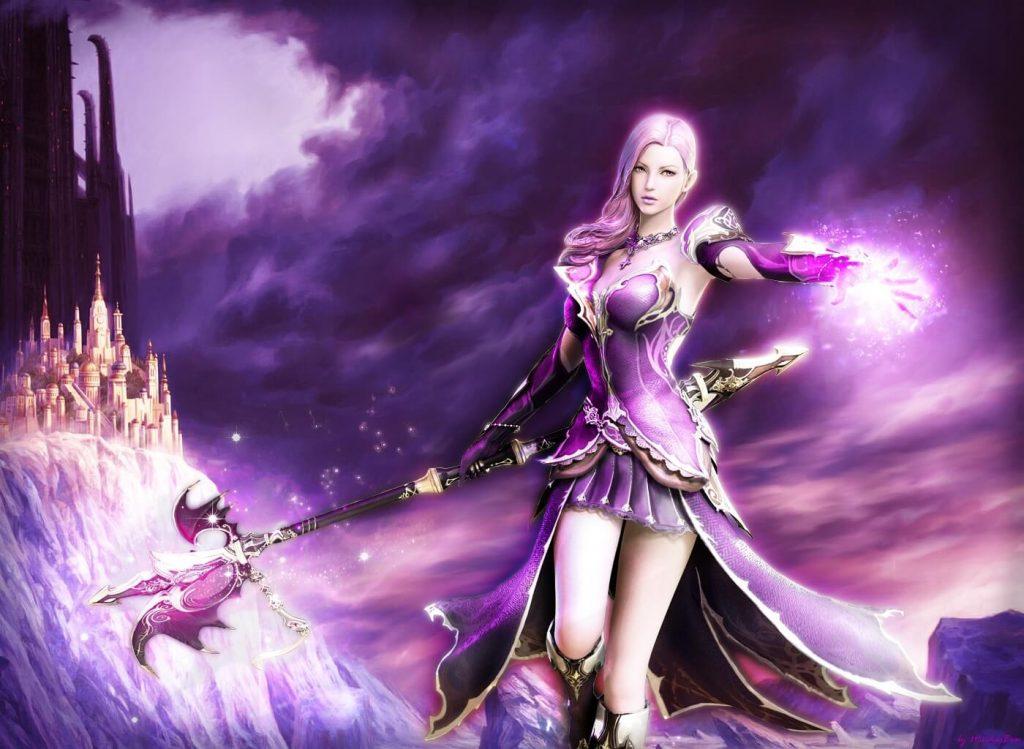 Самые красивые героини MMORPG