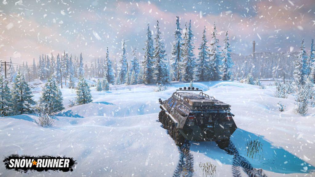 SnowRunner, ледяной сиквел игры MudRunner, идёт юзом к своему апрельскому релизу