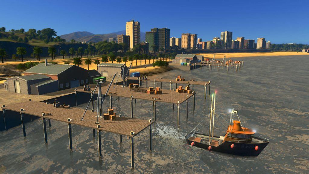 Cities: Skylines на следующей неделе выходит новое дополнение, позволяющее заняться рыбалкой