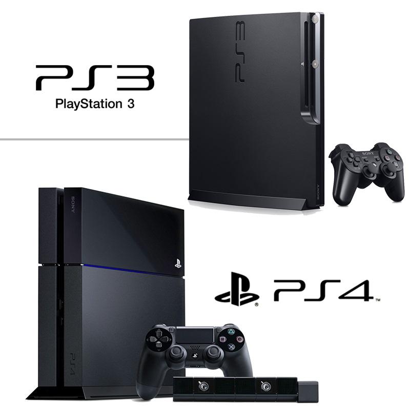 Разница между PlayStation 3 и PlayStation 4