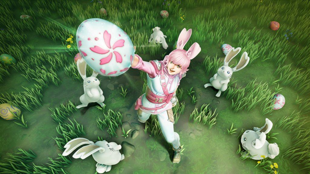 Собирайте яйца, вместо охоты на монстров, в Пасхальном мероприятии Бесстрашных