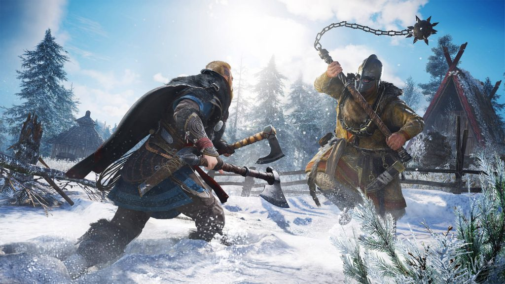 Assassin's Creed Valhalla Сражайся двумя щитами