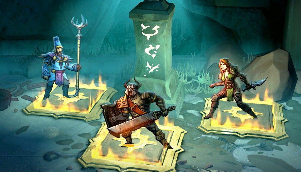 Blightbound - кооперативный dungeon crawler для трех игроков от создателей Awesomenauts