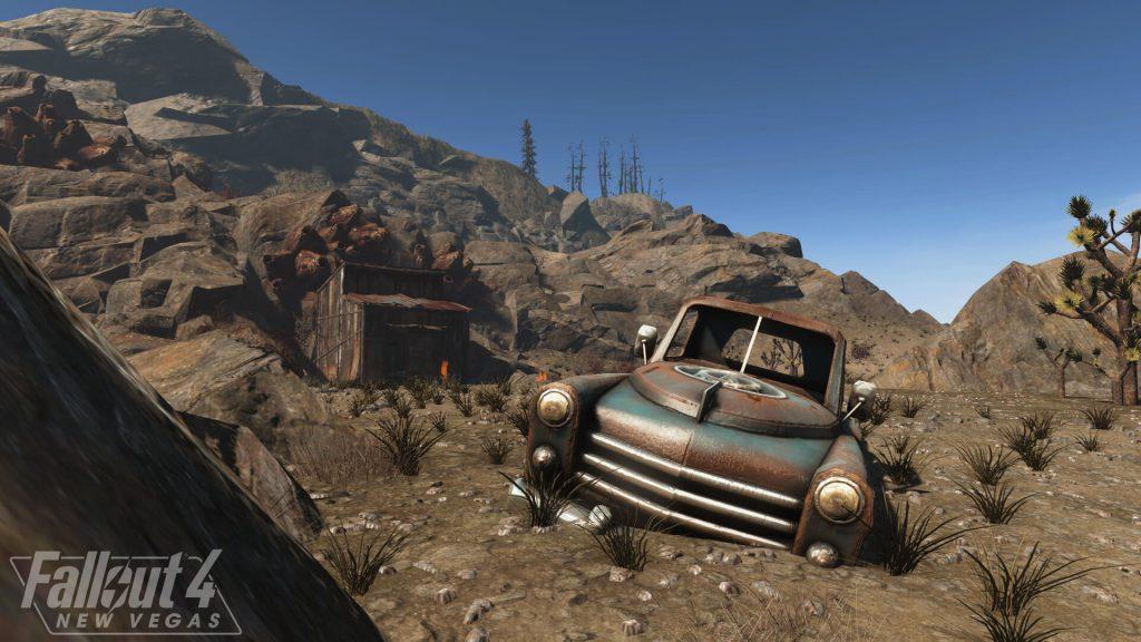 Новый геймплейный тизер-ролик представил прогресс разработки модификации Fallout 4: New Vegas