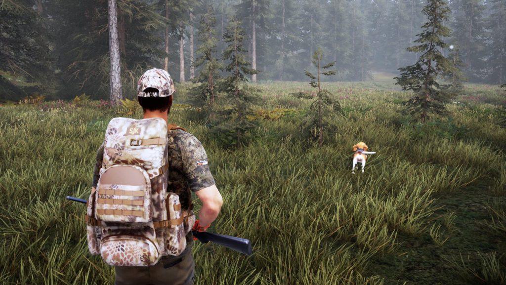 Возможности взаимодействия с собакой в Hunting Simulator 2