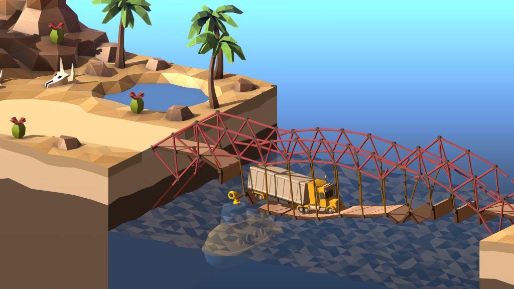Хитрый симулятор с элементами физики Poly Bridge 2 выходит 28 мая