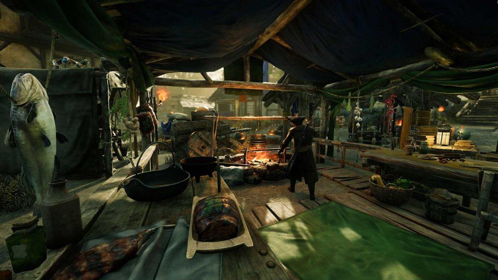 Как еда и напитки будут работать в предстоящей MMO New World
