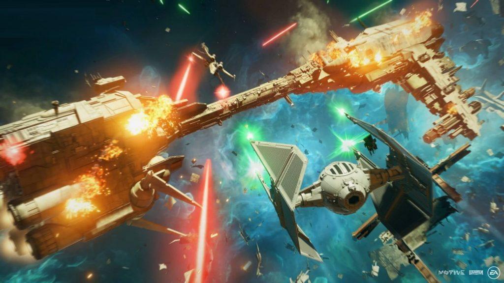 Встречаем систему кастомизации в Star Wars: Squadrons