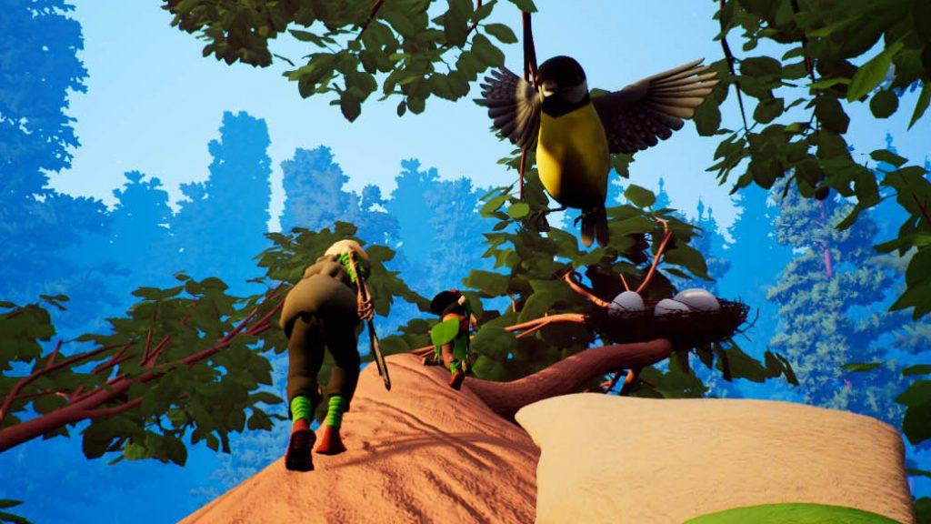 Первый взгляд на Smalland – игру, где главный герой размером с муравья